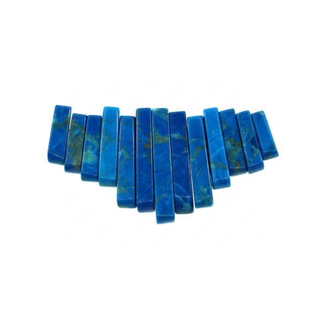 Turquoise Howlite 13 pcs Collar Graduated Beads Beads