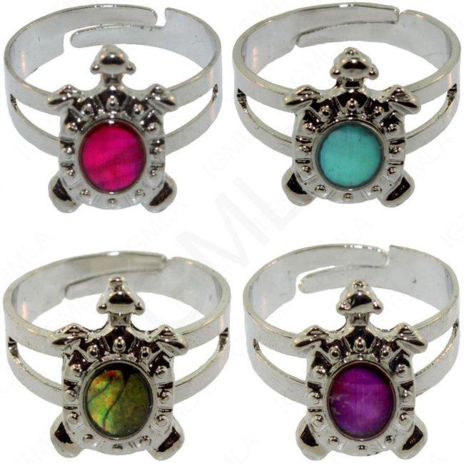 Turtle Paua Shell Rings Jewelry Jewelry