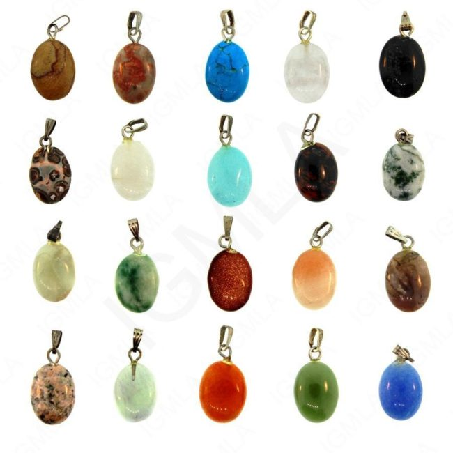 11X15mm Oval Asst Stone (20 Pc Box) Jewelry