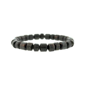 8mm Black Stone South West Mix Drum Jewelry