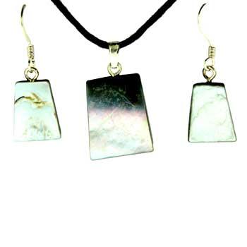 11X15 / 15X20mm Earring/Pendant Ladder Mop (Pinctada Matgaritefera) Jewelry