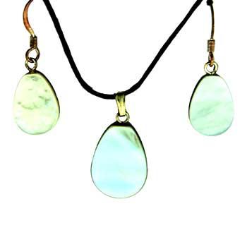 11X14/13X17mm Earring/Pendant Pear Mop (Pinctada Matgaritefera) Jewelry