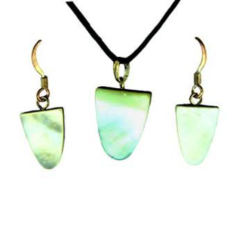 11X16/14X18mm Earring/Pendant Tongue Mop (Pinctada Matgaritefera) Jewelry
